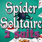 Spider Solitario 2 suits